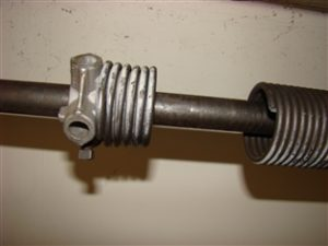 Broken Sectional Door Spring.