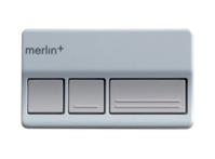 3 button remote control with car visor clip